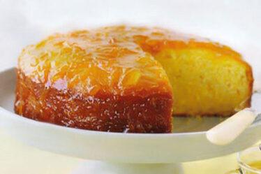 طريقة عمل كيكة البرتقال