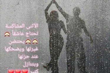 الأثنى المشاكسة تحتاج عاشقاً يحتضن غيرتها ويضحكها عند حزنها ويتنازل كثيراً